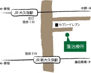 蓬治療所地図
